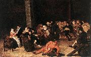Peasants at a Wedding Feast