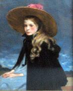 Henriette with the large hat