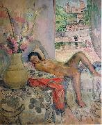 Henri Lebasque Prints Nude portrait by Henri Lebasque, oil on canvas. Courtesy of The Athenaeum oil painting