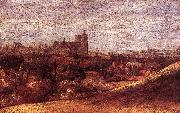 Hercules Seghers View of Brussels from the North-East oil painting