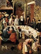 Hieronymus Bosch The Marriage at Cana oil painting reproduction