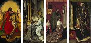 Hugo van der Goes The Trinity Altarpiece oil painting reproduction
