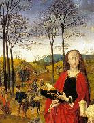Hugo van der Goes Sts Margaret and Mary Magdalene with Maria Portinari oil painting