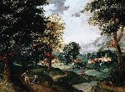 Jacob Grimmer Landscape oil painting reproduction