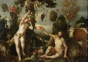 Jacob Jordaens Adam and Eve oil painting reproduction