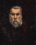 Jacopo Tintoretto Self-portrait. oil painting reproduction