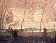 James Wilson Morrice Quai des Grands Augustins oil painting reproduction