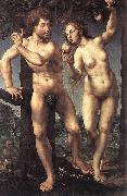 Jan Gossaert Mabuse Adam and Eve oil painting reproduction