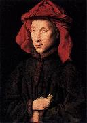 Jan Van Eyck Portrait of Giovanni Arnolfini oil painting reproduction