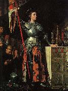 Joan of Arc at the Coronation of Charles VII. Oil on canvas, painted in 1854
