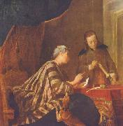 Lady Sealing a Letter