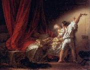 Jean-Honore Fragonard The lock oil painting reproduction