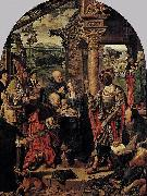 Joos van cleve The Adoration of the Magi oil painting reproduction