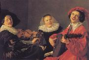 Judith leyster The Concert oil painting reproduction