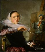 Judith leyster Self Portrait oil painting reproduction