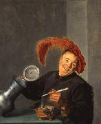 Judith leyster Der lustige Zecher oil painting reproduction