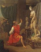 Laurent Pecheux Pygmalion and Galatea oil painting reproduction