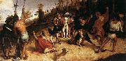 Lorenzo Lotto The Martyrdom of St Stephen oil painting reproduction