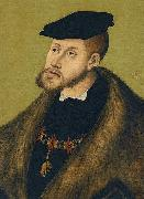 Portrait of Emperor Charles V