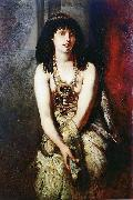 Makart, Hans An Egyptian Princess oil painting