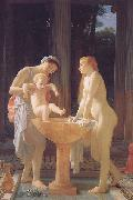 Marc Charles Gabriel Gleyre The Bath oil painting reproduction