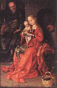 Martin Schongauer The Holy Family oil painting reproduction