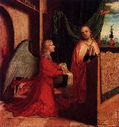 Master of Ab Monogram The Annunciation oil painting reproduction