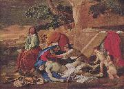 Nicolas Poussin Beweinung Christi oil painting reproduction