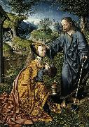 Oostsanen, Jacob Cornelisz van Christ Appearing to Mary Magdalen as a Gardener oil painting on canvas