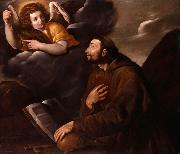 Saint Francis and the Angel