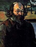 Paul Cezanne Self-portrait. oil painting reproduction