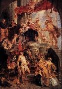 Peter Paul Rubens Virgin and Child Enthroned with Saints oil painting reproduction