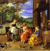 Christ in the House of Martha and Mary 1628 Jan Bruegel the Younger and Peter Paul Rubens