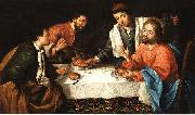 Emmaus, Christ breaking bread