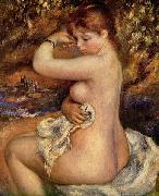Pierre-Auguste Renoir Nach dem Bade oil painting reproduction