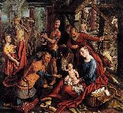 Pieter Aertsen adoration of the Magi oil painting reproduction