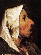 Pieter Bruegel the Elder Portrait of an Old Woman oil painting reproduction