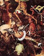 Pieter Bruegel the Elder The Fall of the Rebel Angels oil painting reproduction