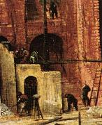 Pieter Bruegel the Elder The Tower of Babel oil painting reproduction