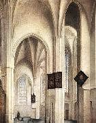 Interior of the St Jacob Church in Utrecht