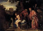 Pieter Lastman Susanna and the Elders oil painting reproduction