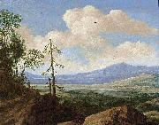 Panoramic Hilly Landscape