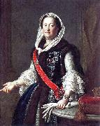 Queen Maria Josepha in Polish costume.