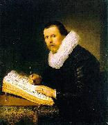 Rembrandt van rijn Portrait of a scholar. oil painting reproduction