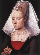 Rogier van der Weyden Portrait of a woman oil painting reproduction