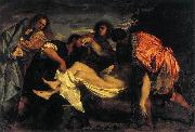 Titian The Entombment oil painting reproduction