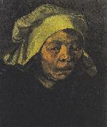 Head of a Peasant woman with white hood