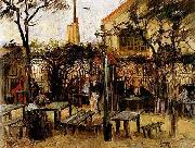 Terrace of a Cafe on Montmartre