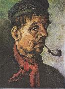 Head of a peasant with a clay-pipe