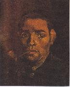 Vincent Van Gogh Head of a young peasant with a Pipe oil painting reproduction